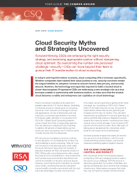 Cloud Security Myths