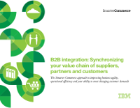B2B integration: Synchronizing your value chain of suppliers, partners and customers