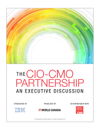 The CIO-CMO Partnership:  An Executive Discussion