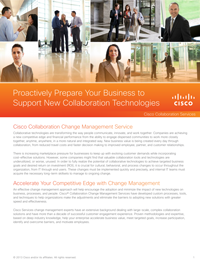 Proactively Prepare Your Business to Support New Collaboration Technologies