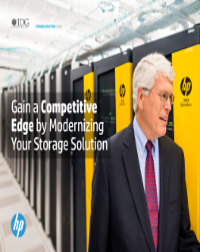 Gain a Competitive Edge by Modernizing Your Storage Solution