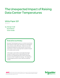 The Unexpected Impact of Raising Data Centre Temperatures