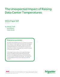 The Unexpected Impact of Raising Data   Center Temperatures