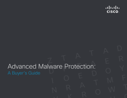 Advanced Malware Protection: A Buyer's Guide