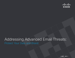 Addressing Advanced Email Threats: Protect Your Data and Brand