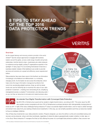 8 tips to stay ahead of the top 2016 data protection trends
