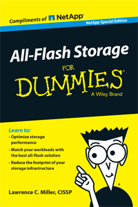 All Flash Storage For Dummies Special Edition