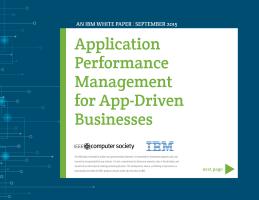 Application Performance Management for App-Driven Businesses