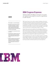 IBM Cognos Express