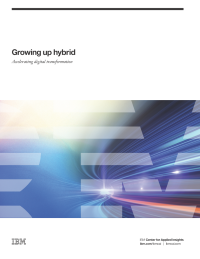 Growing up hybrid: Accelerating digital transformation