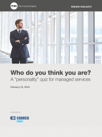 "Who do you think you are? A ""personality"" quiz for managed services"