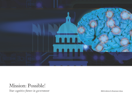 Mission: Possible! Your cognitive future in government