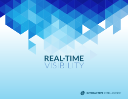 Real-time visibility