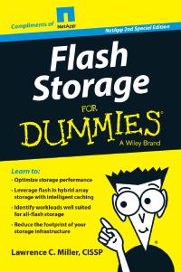 Flash Storage for Dummies, NetApp Special Edition