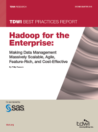 Hadoop for the Enterprise: Making Data Management Massively Scalable, Agile, Feature-Rich, and Cost Effective