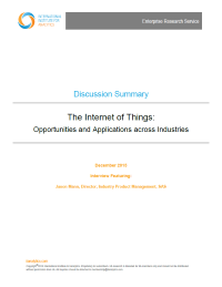 The Internet of Things: Opportunities and Applications across Industries