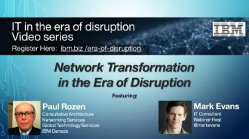Network Transformation in the Era of Disruption
