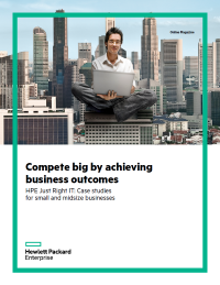 Compete Big by Achieving Business Outcomes
