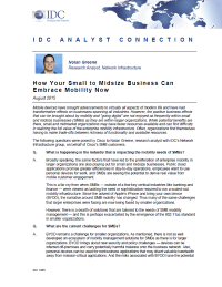 How Your Small to Midsize Business Can Embrace Mobility Now