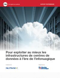 Pour exploiter au mieux les infrastructures de centres de données à l'ère de l'infonuagique