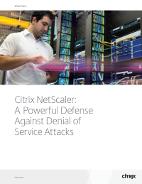 Citrix NetScaler: A Powerful Defense Against Denial of Service Attacks