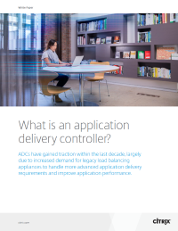 What is an Application Delivery Controller?