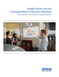 Huddle Rooms and the Changing Nature of Business Meetings