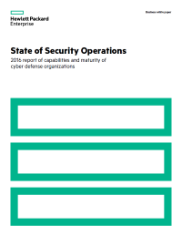 State of Security Operations 2016