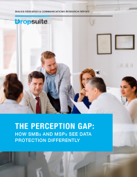 The Perception Gap: How SMBs and MSPs See Data Protection Differently