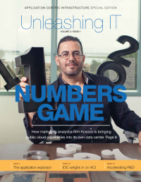 Unleashing IT:  Cisco's Application Centric Infrastructure