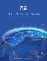 Technology Radar:  Tracking technology trends that will change the future of the industry. Fostering innovation.