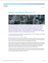 Simplify Your Network