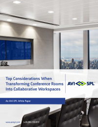 Top Considerations When Transforming Conference Rooms Into Collaborative Workspaces