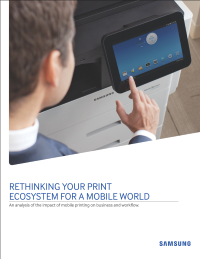Rethinking Your Print Ecosystem for a Mobile World