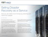 Selling Disaster Recovery as a Service