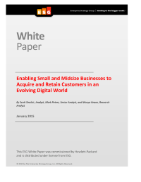 Enabling Small and Midsize Businesses to Acquire and Retain Customers in an Evolving Digital World