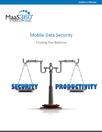 Mobile Data Security. Finding the Balance