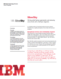 SilverSky.  Driving global business opportunities and enhancing service levels with a SoftLayer migration