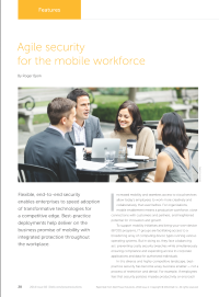 Agile Security for the Mobile Workforce