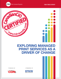 Exploring Managed Print Services as a Driver of Change