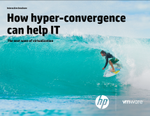 How hyper-convergence can help IT.  The next wave of virtualization