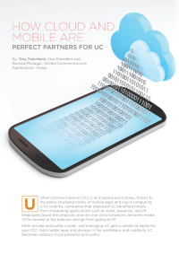 How Cloud and Mobile are Perfect Partners for UC
