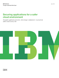 Securing applications for a safer cloud enviornment