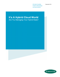 It is A Hybrid Cloud World - Are You Managing Your Hybrid State?