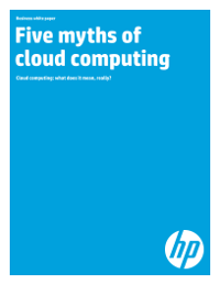 Five myths of cloud computing -  Cloud computing: what does it mean, really?