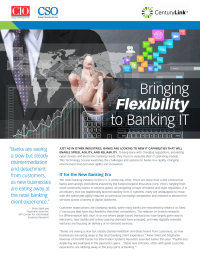 Bringing flexibility to banking IT