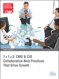 1 + 1 = 3: CMO & CIO Collaboration Best Practices That Drive Growth