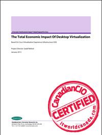 The Total Economic Impact of Desktop Virtualization