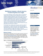 Aberdeen Report: Mid-Market Analytics in North America