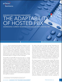 ITW303A - The Adaptability of Hosted PBX